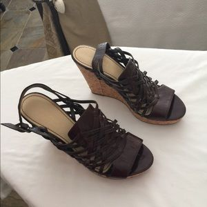 Shoes brown leather